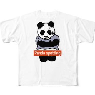 パンダスポッティング 2019年真冬モデル Full graphic T-shirts