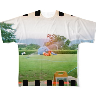 ぞうさん公園 Full graphic T-shirts