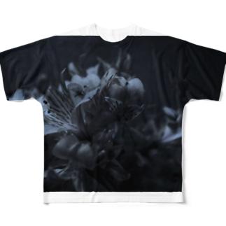 蒼花 Full graphic T-shirts