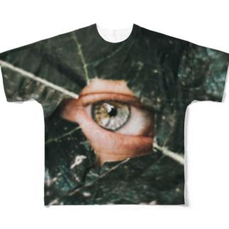 eye(leaf) Full graphic T-shirts