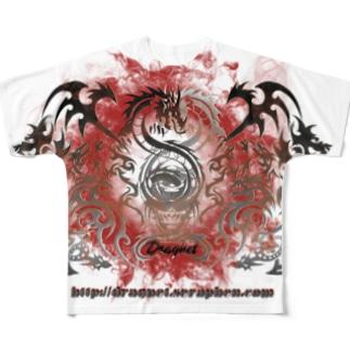 ファイアサークルDRAGNET Full graphic T-shirts