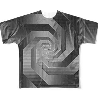 宇宙 -UV仕様- Full graphic T-shirts