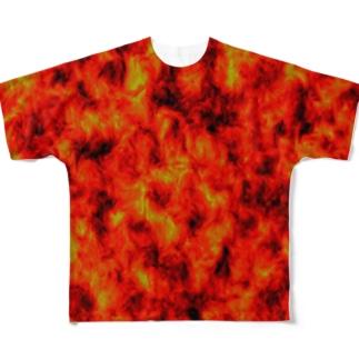 マグマTシャツ Full graphic T-shirts