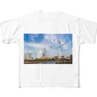 みなとみらいロープウェー 営業時間 Full graphic T-shirts