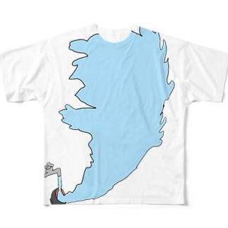 拡散 Full graphic T-shirts