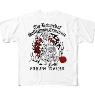 FUUJIN RAIJIN Full graphic T-shirts