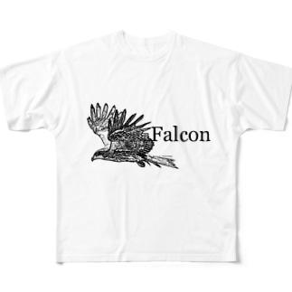 Falcon Full graphic T-shirts