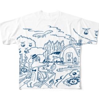 go home Full Graphic T-Shirt