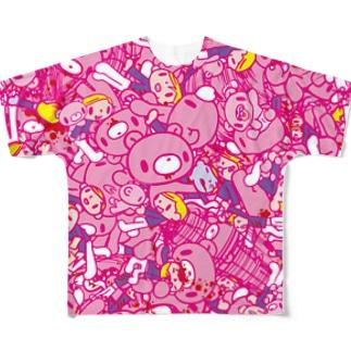 いたずらぐまのグル〜ミ〜 (A) Full graphic T-shirts