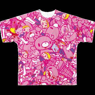 CHAX COLONY imaginariのいたずらぐまのグル〜ミ〜 (A) Full graphic T-shirts