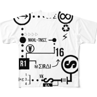 D Full graphic T-shirts