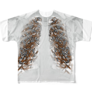 Smoking is addictive Full graphic T-shirts