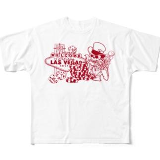 LAS VEGAS Full graphic T-shirts