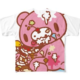 【各20点限定】いたずらぐまのグル〜ミ〜(8) Full graphic T-shirts