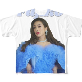 Fujikoゴージャス-カラー Full graphic T-shirts