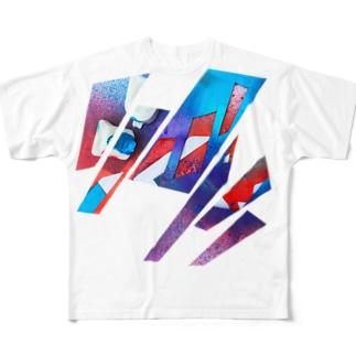iNvisibleColors_Graffiti Full graphic T-shirts