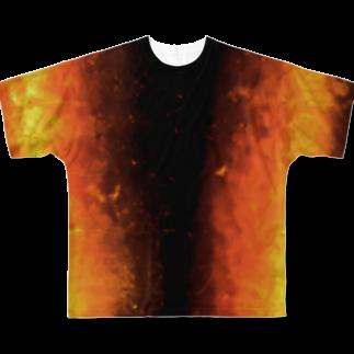 しいのにんじんさん Full graphic T-shirts
