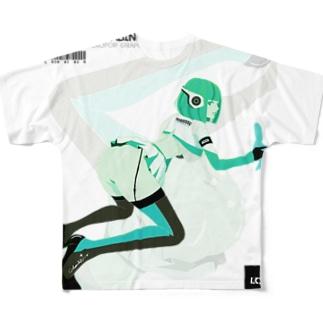 LCC 2020 キャビンクルーはヒューマノイド Full graphic T-shirts