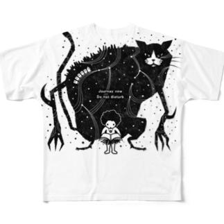 erubakki_邪魔するな Full graphic T-shirts