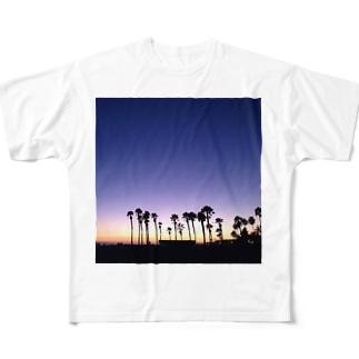 ニューポートビーチ Full graphic T-shirts