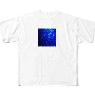 くらげになりたい Full graphic T-shirts