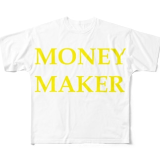 mind your wordsのshake your moneymaker Full graphic T-shirts
