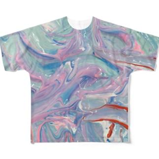 毒毒 Full graphic T-shirts