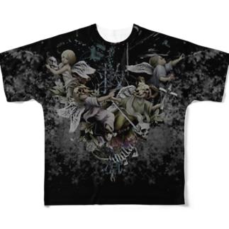 SALVATION bk Full graphic T-shirts