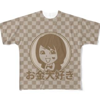 【両面フルグラ】KYOTO×VANILLA Full graphic T-shirts