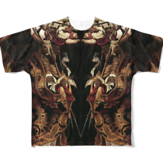 DURINGEXPERIMENTのDET-T-05 Full graphic T-shirts