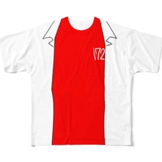 伊夏くんTシャツ/L・XLサイズ対応 Full graphic T-shirts