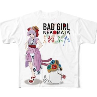 青森ねぶたの衣装に候!Tシャツ Full graphic T-shirts