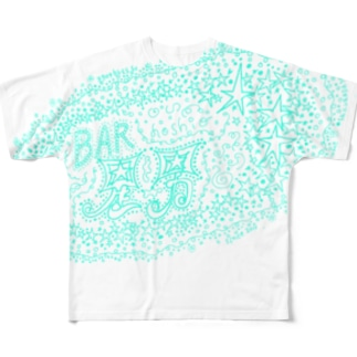 BAR HOSHIO MENU Full graphic T-shirts