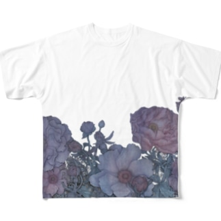 FLOWER 1 Full graphic T-shirts