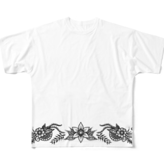 flower Full graphic T-shirts