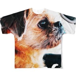 長与ぼっち!強い子シリーズ! Full graphic T-shirts