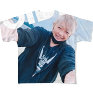 OIDE!ませ!CHIGUSAグッズ! Full graphic T-shirts