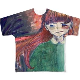 素へ Full graphic T-shirts