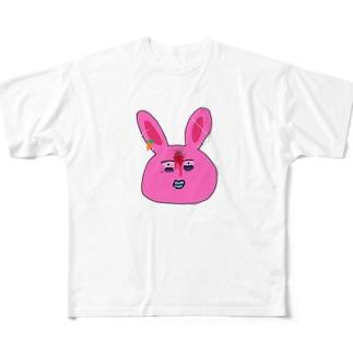用心棒ちゃん Full graphic T-shirts