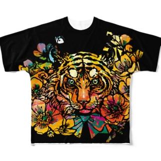 黄金の旋風 Full graphic T-shirts