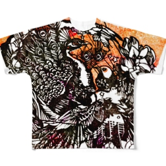 真昼の太陽 Full graphic T-shirts