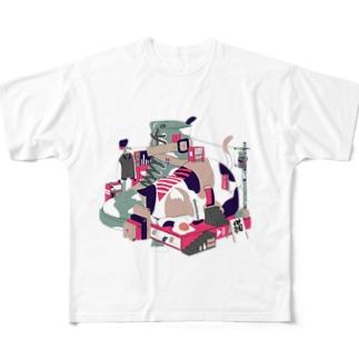 スリープモード Full graphic T-shirts