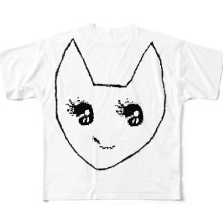 チクロアちゃん Full graphic T-shirts