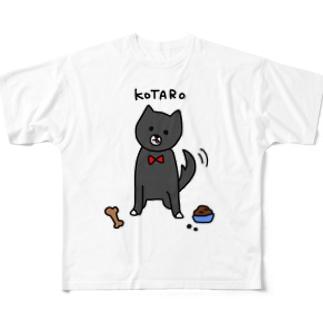 こたろー Full graphic T-shirts