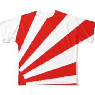 ライジングサン Full graphic T-shirts