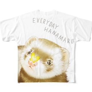 チャリティグッズ*まるちゃん Full graphic T-shirts