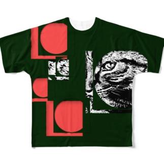 1枚限定デザイン! JOYFUL x JOYFUL No.a3 紅漆 Full graphic T-shirts