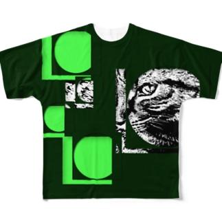 1枚限定デザイン! JOYFUL x JOYFUL No.a3 翠漆 Full graphic T-shirts