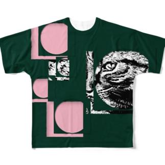 1枚限定デザイン! JOYFUL x JOYFUL No.a5 桜餅 Full graphic T-shirts
