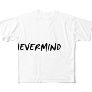 NEVERMIND Full graphic T-shirts